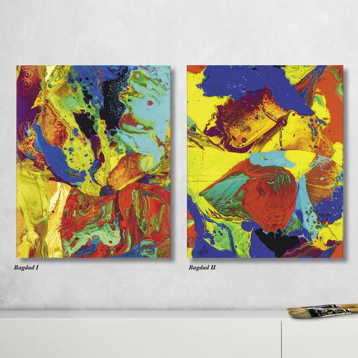 """Gerhard Richter – Bagdad I + II Gerhard Richter: Noch je 3 Exemplare der Editionen """"Bagdad I + II"""". Maße: 40 x 50 cm"""