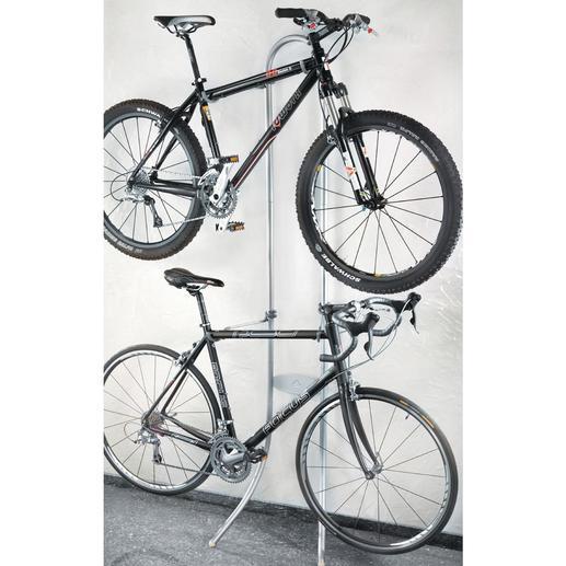 """Fahrrad-""""Garderobe"""" - Kein Bohren. Kein Schrauben. Einfach aufhängen."""