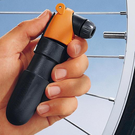Airchamp - Einfaches Nachpumpen ohne Kraftaufwand.