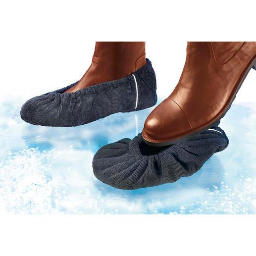 Anti-Rutsch-Überzieher, 2 Paar Für jeden Schuh: Wirksamer Schutz vor üblen Verletzungen bei Eis und Nässe.