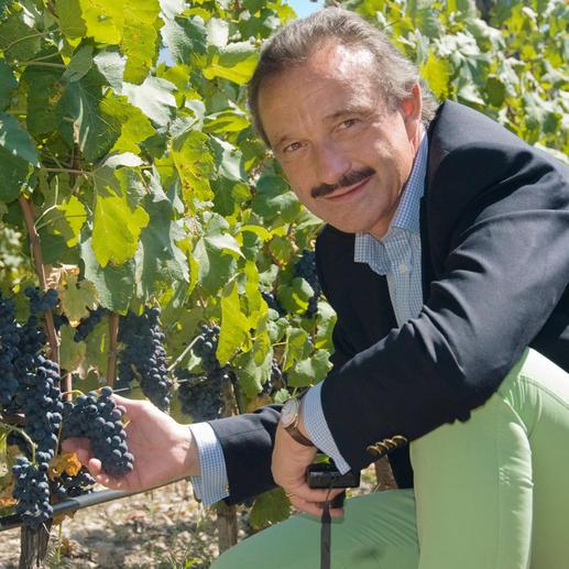 """Enira 2013, Domain Bessa Valley, Thracia Lowland, Bulgarien """"In Kalifornien würde man für einen Wein wie ihn das Doppelte zahlen müssen."""" (Jens Priewe, www.weinkenner.de, 19.10.2011, über den Jahrgang 2008)"""