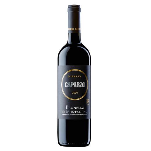 """Brunello Caparzo Riserva 2007, Brunello DOCG, Toskana, Italien - """"Unwiderstehlich (…) Ausgeprägt (…). 96 Punkte."""" (Wine Spectator vom 31.05.2013)"""