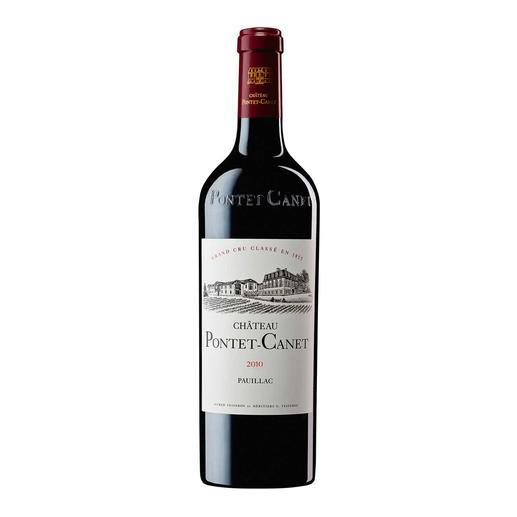 "Pontet Canet 2010, 5ème Grand Cru Classé, Pauillac, Bordeaux, Frankreich - ""Ein absolut fantastischer Wein. 100 Punkte."" (Robert Parker, Wine Advocate 205, 02/2013)"