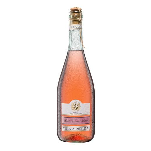 Rosé-Secco Frizzante, Villa Armellina, Italien Nur 10,5 % Alkohol – aber 100 % Genuss.