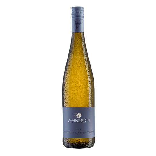 Chardonnay-Weißburgunder Weinreich 2014, Marc Weinreich, Rheinhessen, Deutschland - Erst seit sieben Jahren Weinmacher.  Doch bereits dreifach ausgezeichnet.