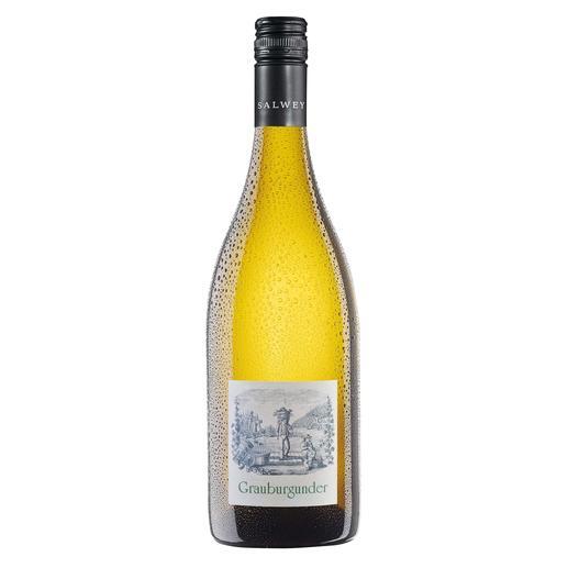 Grauburgunder Nepomuk QbA 2014, Weingut Salwey, Oberrotweil, Kaiserstuhl, Deutschland - Solch ein Pinot Gris kann nur vom Kaiserstuhl kommen.