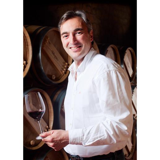 Weinmacher Manuel Muga