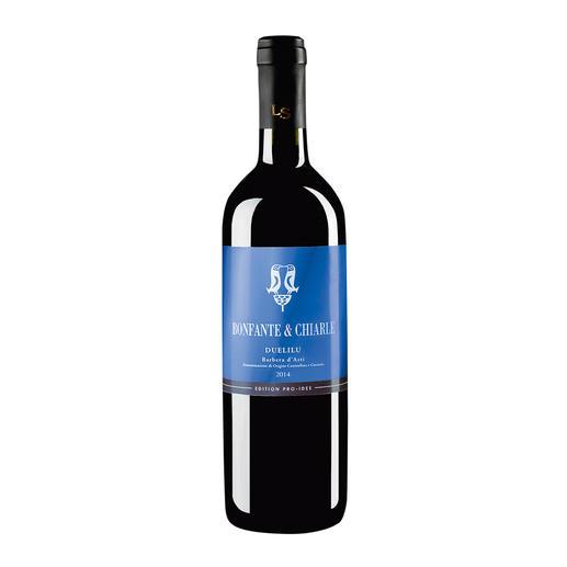 Barbera d`Asti Duelilu DOCG 2014, Bonfante & Chiarle, Piemont, Italien, EDITION PRO-IDEE - Womit kann Italiens höchstausgezeichneter Weinmacher noch überraschen?