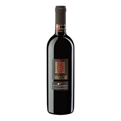 """Montepulciano d`Abruzzo """"Bisanzio"""" DOC 2014, Citra, Abruzzen, Italien - """"3-Gläser-Weine"""" machten ihn berühmt. Wirklich sensationell aber ist dieser Montepulciano."""