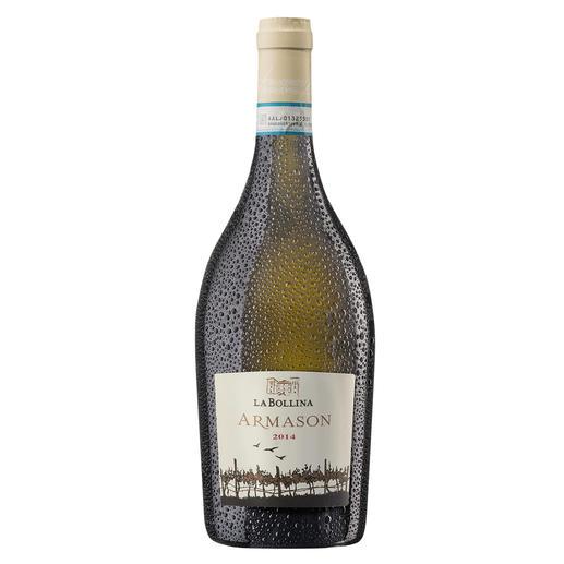 """Armason 2014, La Bollina, Piemont, Italien - """"Einer der besten Weißweine Italiens. 96 Punkte."""" (Luca Maroni über den Jahrgang 2012, lucamaroni.com, 08.07.2013)."""