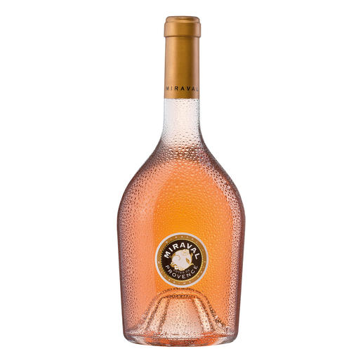 Miraval, Jolie-Pitt & Perrin, Provence AOC, Frankreich Der erste Rosé in der Top-100-Liste des Wine Spectators.* In 37 Jahren. (Ausgabe vom 31.12.2013)