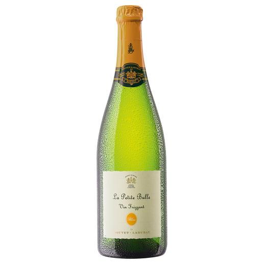 La Petite Bulle, Bouvet Ladubay, Loire, Frankreich - Frizzante erobert das Champagner-Verfahren.