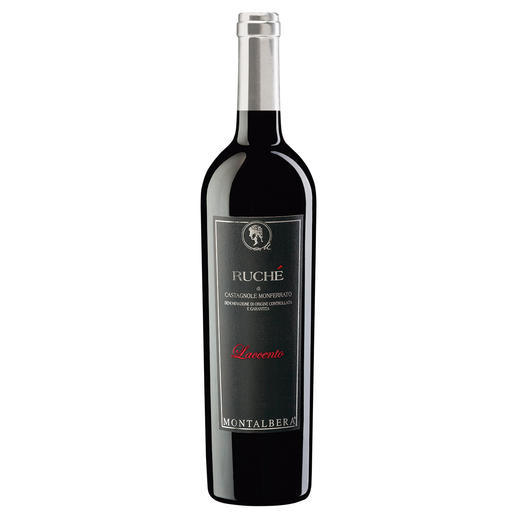 Laccento Ruché 2015, Weingut Montalbera, Monferrato DOCG, Piemont, Italien 98 Punkte von Luca Maroni. (Luca Maroni, Annuario dei Migliori Vini Italiani 2016 für den Jahrgang 2014)