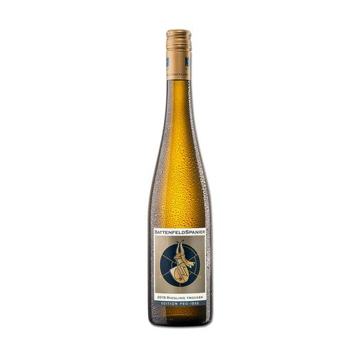 Battenfeld-Spanier Riesling 2015, Hohen-Sülzen, Rheinhessen, Deutschland - Der Wein aus diesen Reben wird in einigen Jahren wohl das Vierfache (!) kosten.