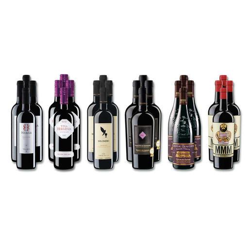 """Weinsammlung """"Die kleine Rotwein-Sammlung Winter 2016"""", 24 Flaschen - Wenn Sie einen kleinen, gut gewählten Weinvorrat anlegen möchten, ist dies jetzt besonders leicht."""