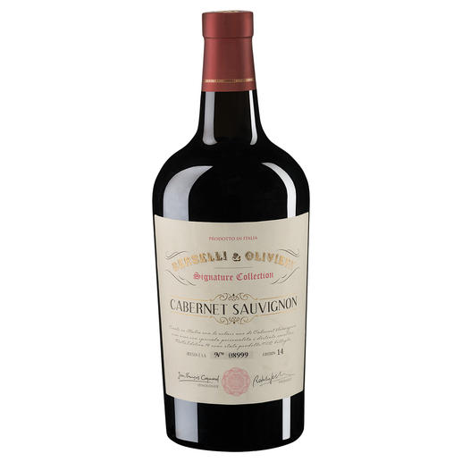 Berselli & Olivieri Cabernet Sauvignon 2014, Alma Wines, Vino varietale, Italien Qualität statt bürokratischer Fesseln.