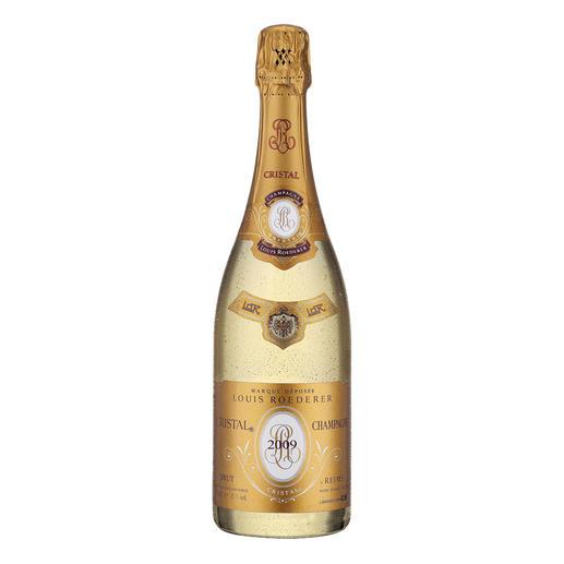 Champagne Louis Roederer Cristal 2009, Champagne AOC, Reims, Frankreich 97 Punkte von James Suckling (www.jamessuckling.com).