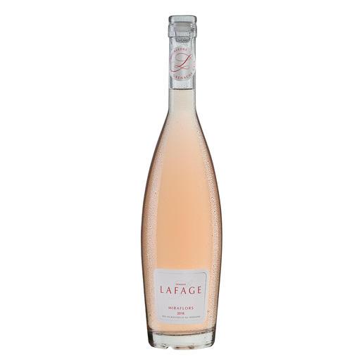 """Miraflors Rosé 2016, Domaine Lafage, Languedoc-Roussillon, Frankreich """"… unglaublich balanciert (…) einfach unwiderstehlich."""" (Robert Parker, Wine Advocate 230, 04/2017)"""