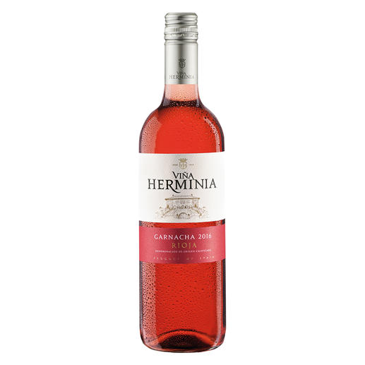 Viña Herminia Rosado 2016, Rioja, Spanien Der neue Typ Rosé-Wein.