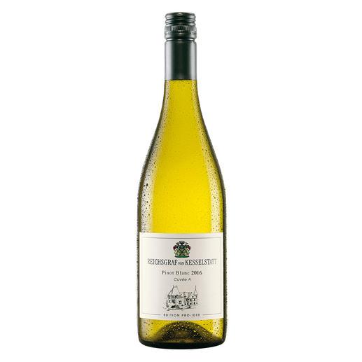 Pinot Blanc EDITION PRO-IDEE 2016, Reichsgraf von Kesselstatt, Mosel, Deutschland Hier entstehen Weine mit 94 Parker-Punkten. Doch der Pinot Blanc von der Mosel ist die wahre Überraschung.