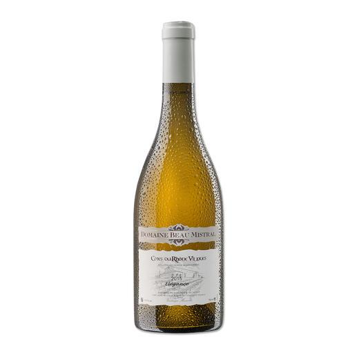 Beau Mistral Blanc 2015, Domaine Beau Mistral, Rhône, Frankreich 94 Punkte von Robert Parker. (Robert Parker, Wine Advocate 228, 12/2016)