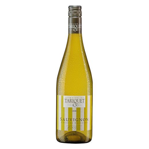 Tariquet Sauvignon Blanc 2016, Domaine du Tariquet, Côtes de Gascogne IGP, Frankreich Der Weißwein des Jahres aus Frankreich (Weinwirtschaft 01/2012 über den Jahrgang 2011)