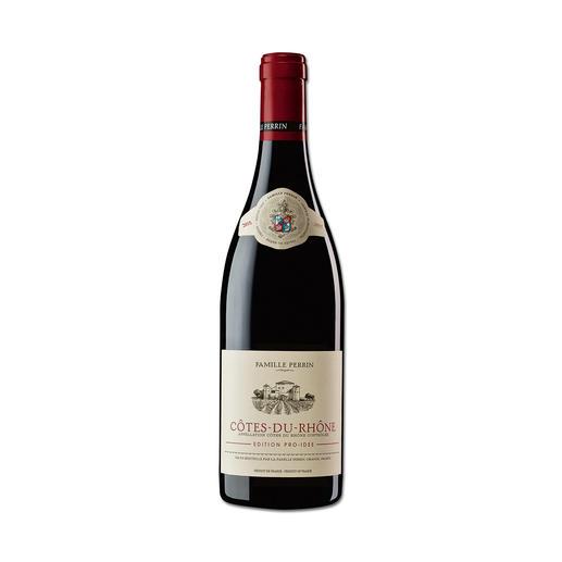 Côtes du Rhône 2015, Perrin, Rhône IGP, Frankreich Er macht Weine mit 100 Parker-Punkten. Und diesen Côtes du Rhône – exklusiv für die EDITION PRO-IDEE.
