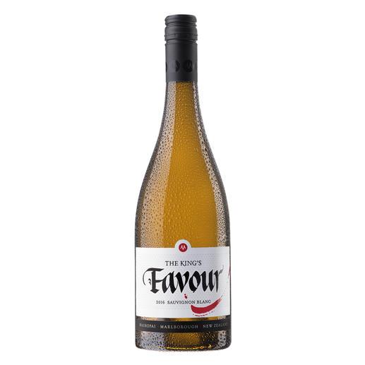 """Sauvignon The King's Favour 2016, Marisco Vineyards Ltd., Marlborough, Neuseeland Der Weißwein des Jahres aus der """"neuen Welt"""". (Weinwirtschaft 01/2017)"""