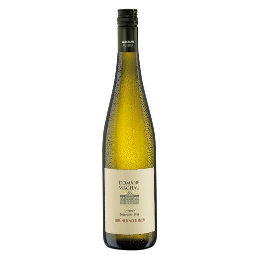 """Grüner Veltliner Federspiel """"Terrassen"""" 2016, Qualitätswein, Domäne Wachau, Österreich Der Weißwein des Jahres aus Österreich. (Weinwirtschaft 01/2009)"""