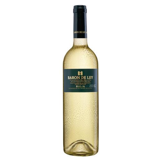 Rioja Blanco 2016, Baron de Ley, Rioja DOC, Spanien Der weiße Rioja: kaum bekannt. Und daher (noch) erfreulich günstig.