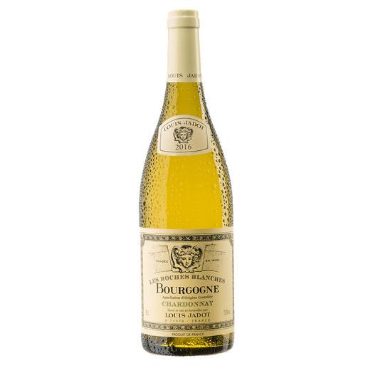 """Bourgogne Chardonnay """"Les Roches Blanches"""" 2016, Louis Jadot, Burgund, Frankreich Endlich ein weißer Burgunder, der seinen Namen verdient."""