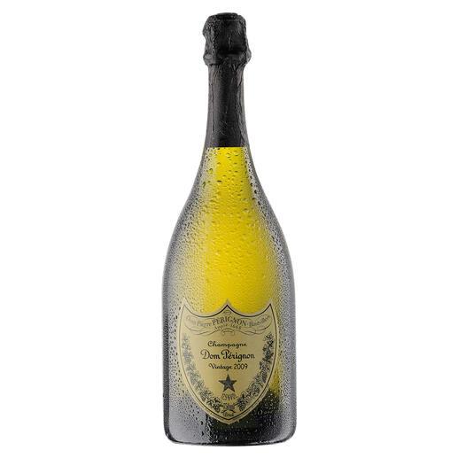 Dom Pérignon 2009, Champagne, Frankreich Der wohl berühmteste Champagner der Welt.