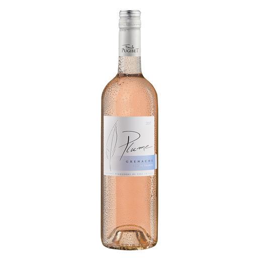 Plume Rosé 2017, Domaine La Colombette, Coteaux du Libron, Languedoc, Frankreich Trocken. Nur 9 % Alkohol. Aber 100 % Genuss.