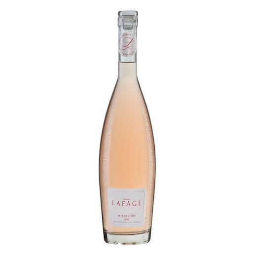 """Miraflors Rosé 2017, Domaine Lafage, Languedoc-Roussillon, Frankreich """"… unglaublich balanciert (…) einfach unwiderstehlich."""" (Robert Parker, Wine Advocate 230, 04/2017 über den Jahrgang 2016)"""