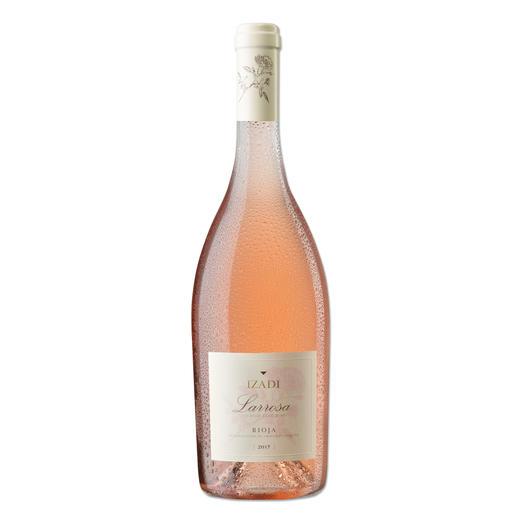 Izadi Rosado 2017, Bodegas Izadi, Rioja, Spanien Die Eleganz eines Rosé de Provence? Oder die Fülle eines spanischen Rosado? Hier ist die perfekte Kombination.