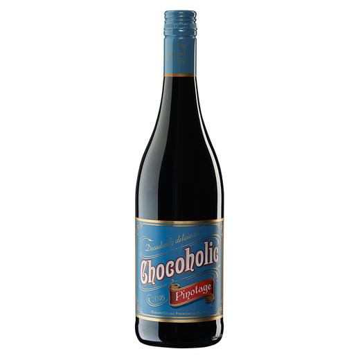 Chocoholic Pinotage 2015, Darling Cellars, Coastal Region, Südafrika - Moderne Weinmacher-Kunst par excellence.