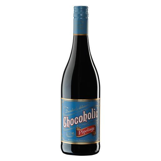 Chocoholic Pinotage 2015, Darling Cellars, Coastal Region, Südafrika Moderne Weinmacher-Kunst par excellence.