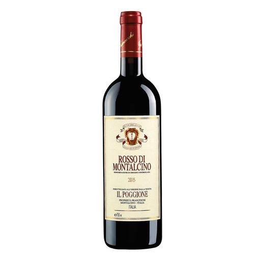 Rosso di Montalcino DOC 2015, Tenuta Il Poggione, Toskana, Italien In einigen Jahren wird der Wein von diesen Reben deutlich mehr als das Doppelte kosten.