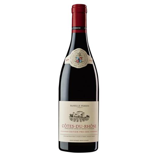 Côtes du Rhône EDITION PRO-IDEE 2016, Perrin, Rhône, Frankreich - Er macht Weine mit 100 Parker-Punkten. Und diesen Côtes du Rhône – exklusiv für die EDITION PRO-IDEE.