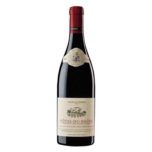 Côtes du Rhône EDITION PRO-IDEE 2016, Perrin, Rhône, Frankreich Er macht Weine mit 100 Parker-Punkten. Und diesen Côtes du Rhône – exklusiv für die EDITION PRO-IDEE.