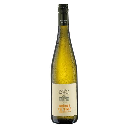 """Grüner Veltliner Federspiel """"Terrassen"""" 2017, Domäne Wachau, Österreich Der Weißwein des Jahres aus Österreich. (Weinwirtschaft 01/2009)"""