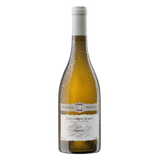 Beau Mistral Blanc 2017, Domaine Beau Mistral, Rhône, Frankreich 94 Punkte von Robert Parker. (Robert Parker, Wine Advocate 228, 12/2016 über den Jahrgang 2015)