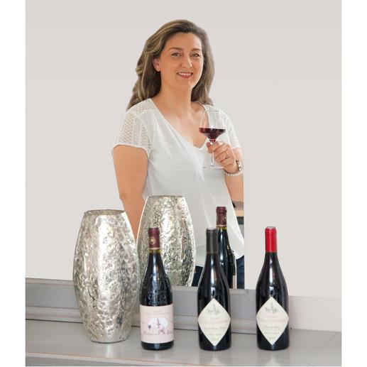 Côtes du Rhône Vieilles Vignes 2015, Domaine Font de Courtedune, Côtes du Rhone, Frankreich In direkter Nachbarschaft des weltberühmten Château Rayas. Doch für einen Bruchteil des Preises.