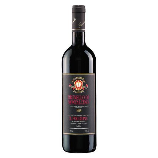 """Brunello di Montalcino 2013, Tenuta Il Poggione, Toskana, Italien """"ein wunderbar gelungener Sangiovese… 96 Punkte""""  (Robert Parker, Wine Advocate 235, 02/2018)"""