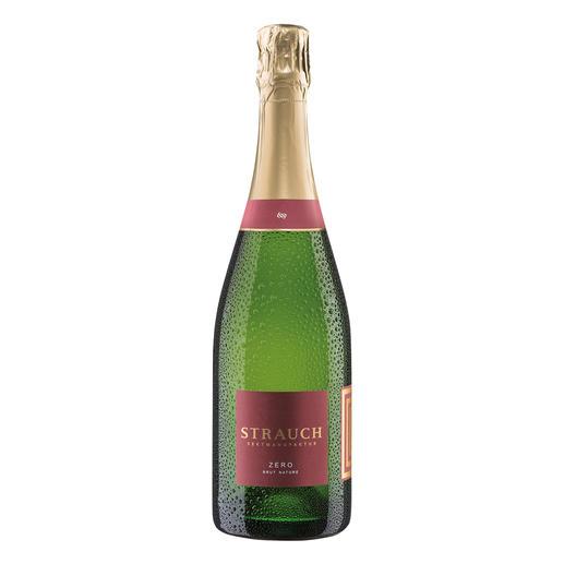 Pinot Blanc Zero Brut Nature, Strauch Sektmanufaktur, Rheinhessen, Deutschland Aus der kleinsten Sektmanufaktur Deutschlands. Ausgezeichnet zum Aufsteiger des Jahres 2015. (Gault & Millau 2015)