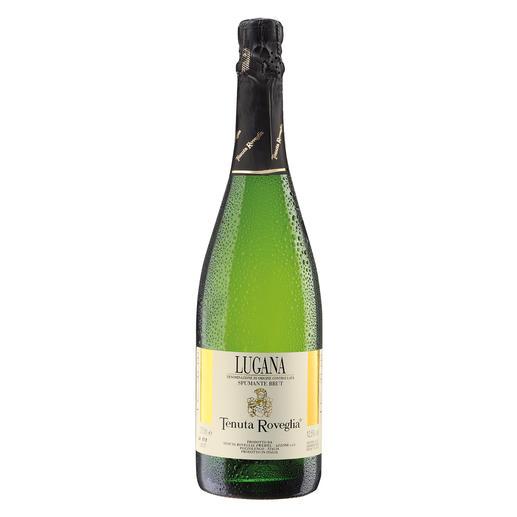 Lugana Spumante, Tenuta Roveglia, Lombardei, Italien Der perfekte Aperitif für Freunde des Lugana. Aus dem Filetstück der Weinberge.