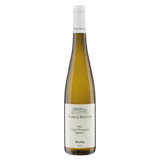 """Ürziger Würzgarten Spätlese 2016, Markus Molitor, Mosel, Deutschland """"… großartige Komplexität. 95+ Punkte."""" (Wine Advocate Interim Issue, 03/2018)"""