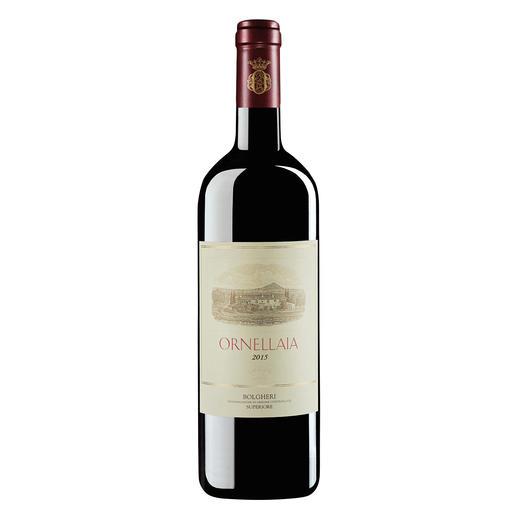Ornellaia 2015, Tenuta dell`Ornellaia, Bolgheri, Toskana, Italien Großer Wein aus großem Jahrgang. (Doch leider nur in kleiner Menge.)