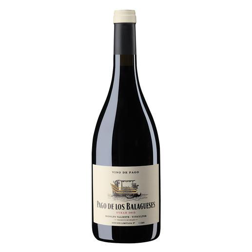 Vino de Pago Syrah 2015, Bodegas Vegalfaro, Utiel-Requena, Spanien Zwei seltene Auszeichnungen: Vino de Pago. Und 96 Punkte von James Suckling. (www.jamessuckling.com, 02.08.2018)