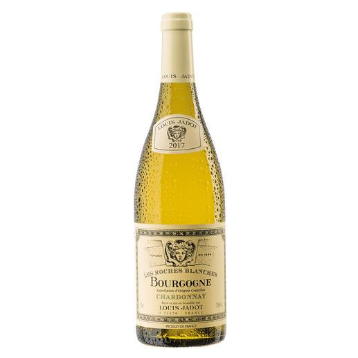 """Bourgogne Chardonnay """"Les Roches Blanches"""" 2017, Louis Jadot, Burgund, Frankreich Endlich ein weißer Burgunder, der seinen Namen verdient."""